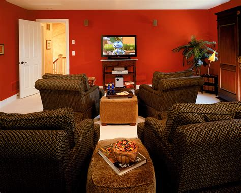 home theater seating ideas home theater traditional with