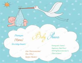 Invitation For Baby Shower Template by Use A Baby Shower Invitation Template 5 Printable Designs