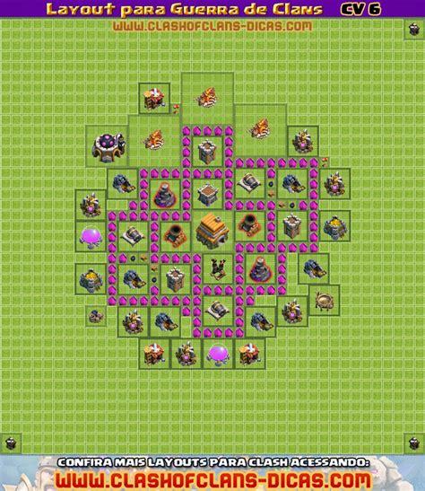 layout cv 6 guerra o jogador layouts cv 6 para guerras