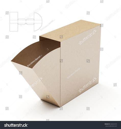 packaging die cut template slim dispenser box with die cut template boxes gift