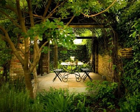 nice ideas for covered secret garden patio decorating
