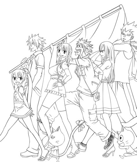fairy tale anime coloring pages coloring pages