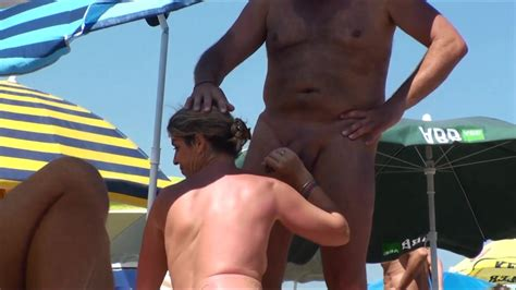 Milfs Sucking Dick At The Nudist Beach Nudism Porn At