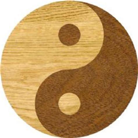 Inlays. Hardwood Floor Products: Ying Yang, Medallions