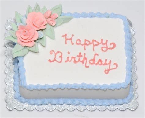 Home Interior Catalog Blue Happy Birthday Cake W Pink Roses Stewart Dollhouse