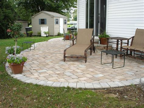 small patio pavers ideas triyae backyard ideas pavers various design