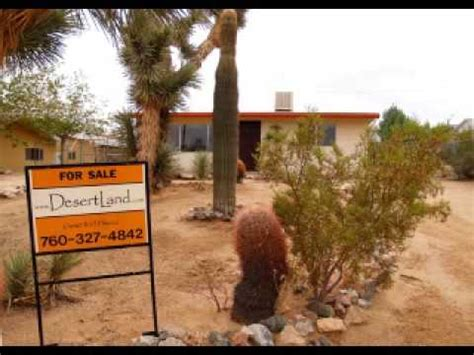 joshua tree house for sale joshua tree house for sale joshua tree real estate youtube
