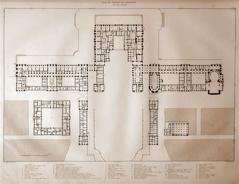 palace of versailles floor plan marie antoinette online forum view topic plans of the