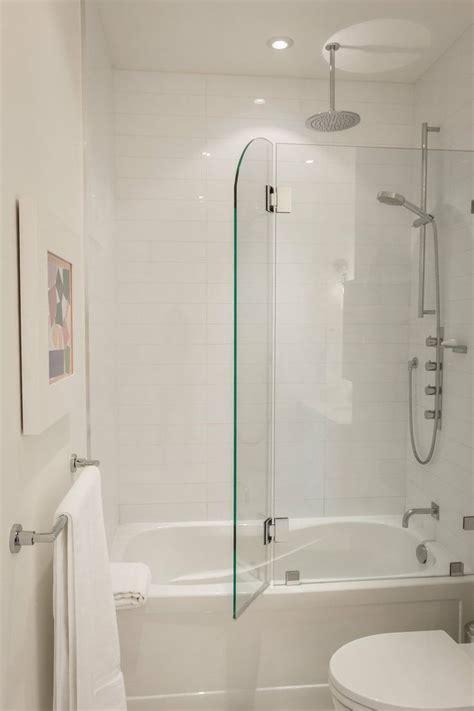 glass doors for bathtub 6 consejos para ba 241 os peque 241 os que los har 225 parecer m 225 s