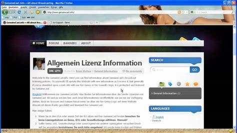 website radio tutorial web radio gr 252 nden ohne gema und gvl lizenz legal intro