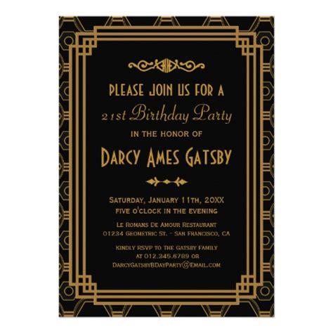 Personalized Roaring 20s Invitations Custominvitations4u Com Roaring 20s Invitation Template Free