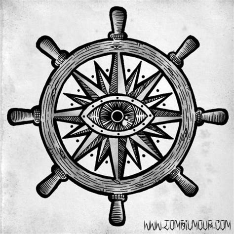 ship wheel tattoo design best 25 ship wheel ideas on anchor