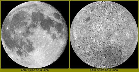 imagenes ocultas de la luna paseando por el universo la cara oculta de la luna