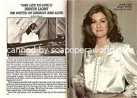 Judith Light One To Live by 6 78 Soap Opera Digest Susan Seaforth Judith Light