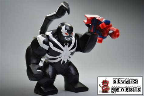 Anti Venom Spiderman Lego