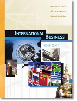 Western International Mba by International Business