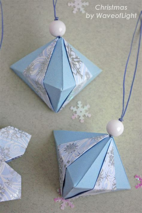 Easy Origami Decorations - 25 best ideas about origami ornaments on