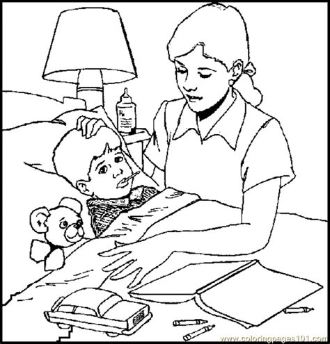coloring pages 22 sickchild education gt health free