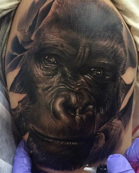 gorilla tattoo pin silverback gorillas pictures to pin on