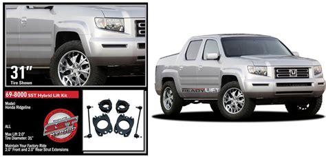 Galerry honda ridgeline 2 front 2 rear lift kit 2006