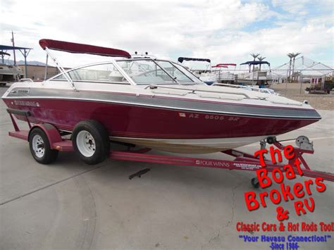 four winns open bow boats for sale 1989 four winns 180 horizon 18 open bow new used