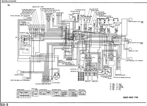 honda vt500 wiring diagram honda wiring diagram exles
