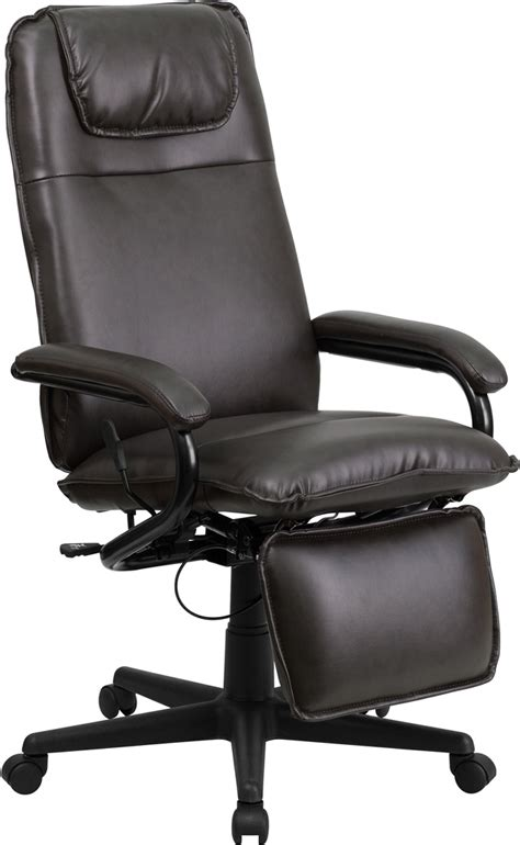 flash furniture leather executive office chair flash furniture high back brown leather executive