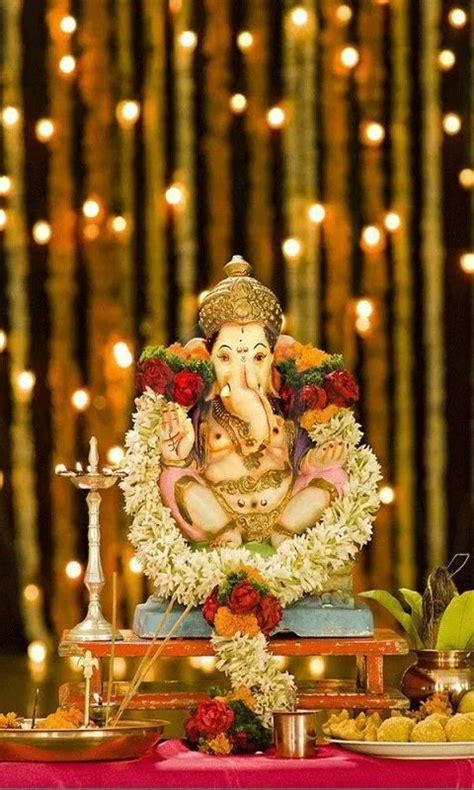 Lord Ganesha Live Wallpapers by Lord Ganesha Pooja For Android Free 9apps