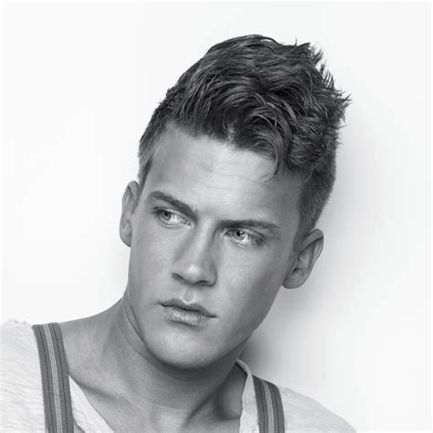 thick hair hairstyles  men