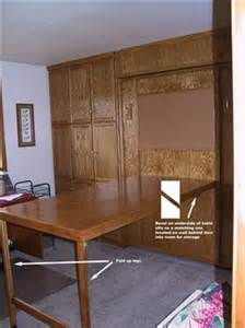 Murphy Bed Craft Table Craft Room W Murphy Bed 3 Cutting Table Cloth Paper