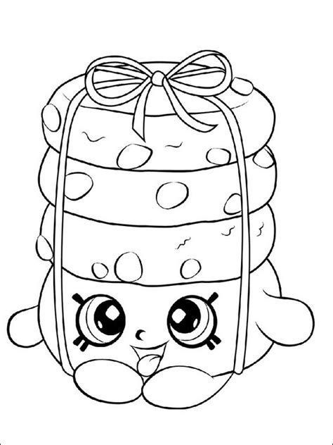 imagenes para pintar shopkins dibujos para ni 241 os para imprimir shopkins 24