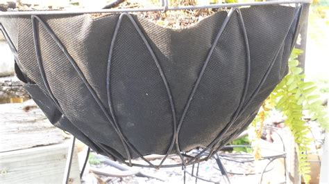 Landscape Fabric Liner Alternative To Coir Basket Liners Garden Org