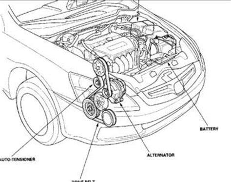solved: belt diagram 2005 honda accord lx 4 cy fixya