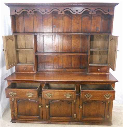 Georgian Style Furniture by Georgian Style Oak Dresser Sold