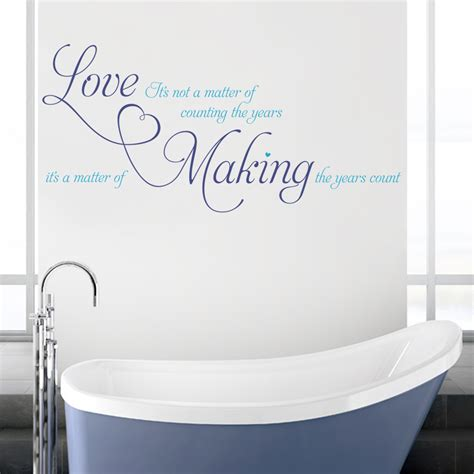 wall decals in bathroom love its not a matter of wall stickers decals