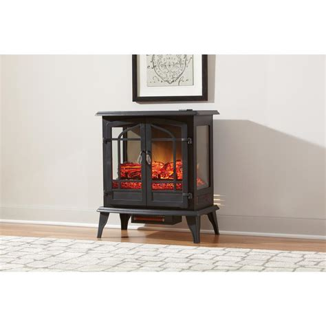 Hton Bay Electric Fireplace Reviews by Hton Bay Legacy 1 000 Sq Ft 25 In Panoramic Electric