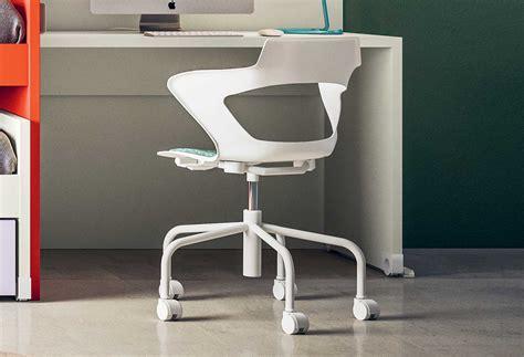 altezza sedia scrivania sedia con ruote con altezza regolabile polka clever it