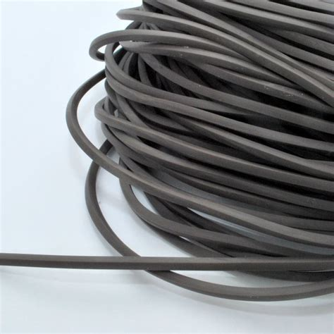 rubber sting square rubber string 4 mm grey nemravka cz