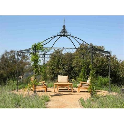 gazebo esagonale in ferro gazebo esagonale in ferro per giardino lonato