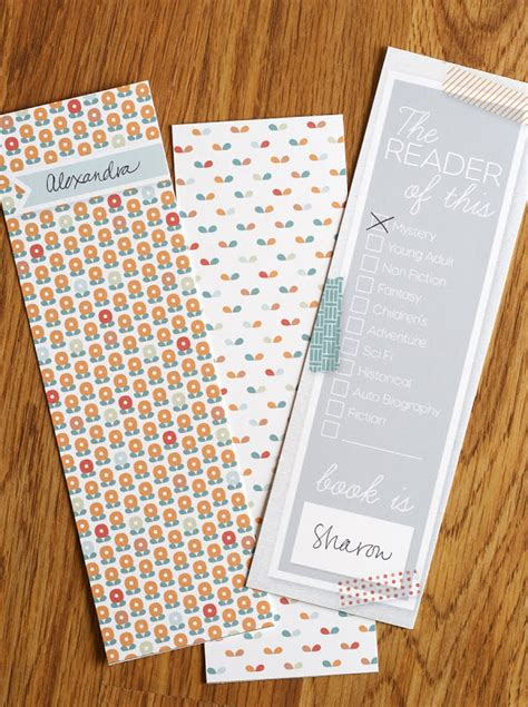 printable bookmark ideas diydecorhome diy home decor ideas