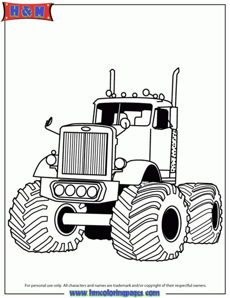 monster trucks coloring pages 20 free printable truck coloring pages everfreecoloring com