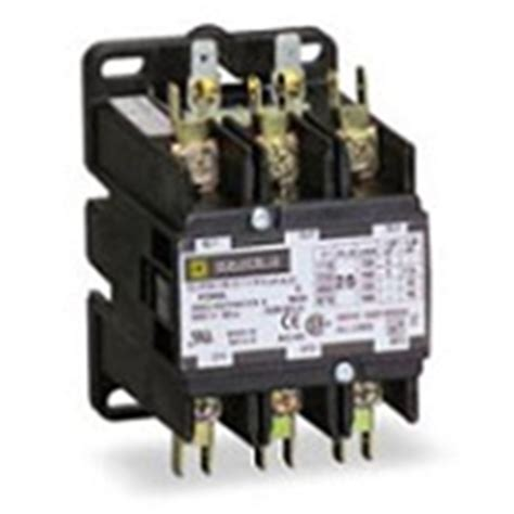 120 amp 3 pole 24 volts coil standard duty contactor