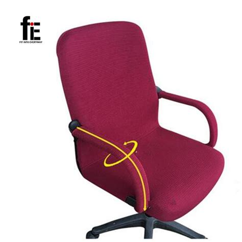 elastic office chair seat cover elastic chair cover polyester suit armchair arm cover for