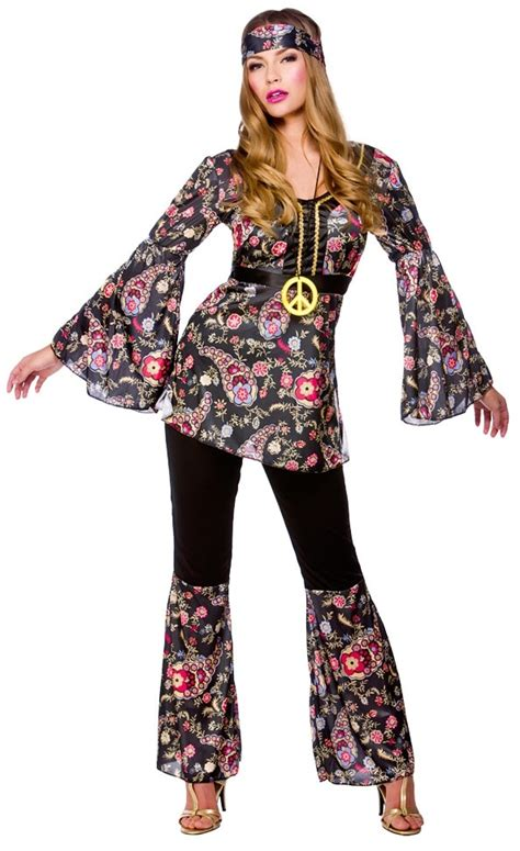 pictures of outfits for women in their60s peace hippie ladies costume 1960s groovy retro womens 60s
