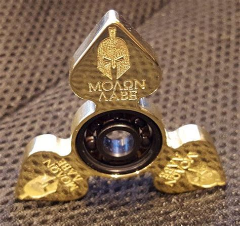Spinner Metal Captain America Fidget Spiner Alumin Limited fidget spinner molon labe edc one of a by