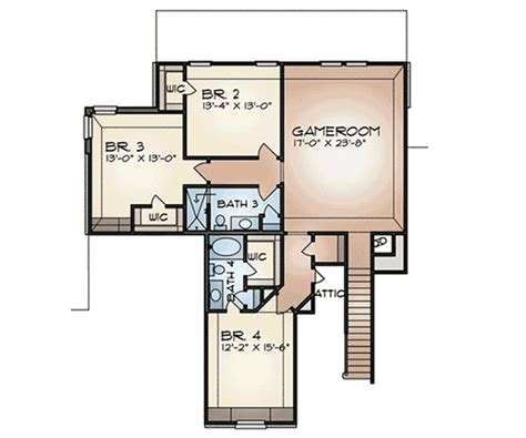 game room floor plans ideas craftsman house plan with game room 36919jg 1st floor