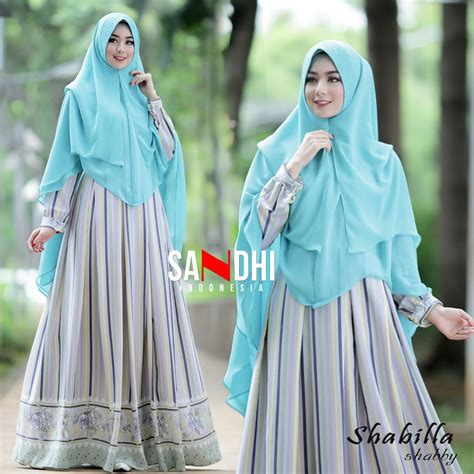 Khimar Pet Rempel Shabby murah n ori collection shabilla shabby by sandhi