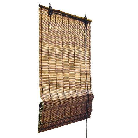 sichtschutz fenster ebay bambus rollo 160 cm lang bambusrollo kordel raffrollo f 252 r