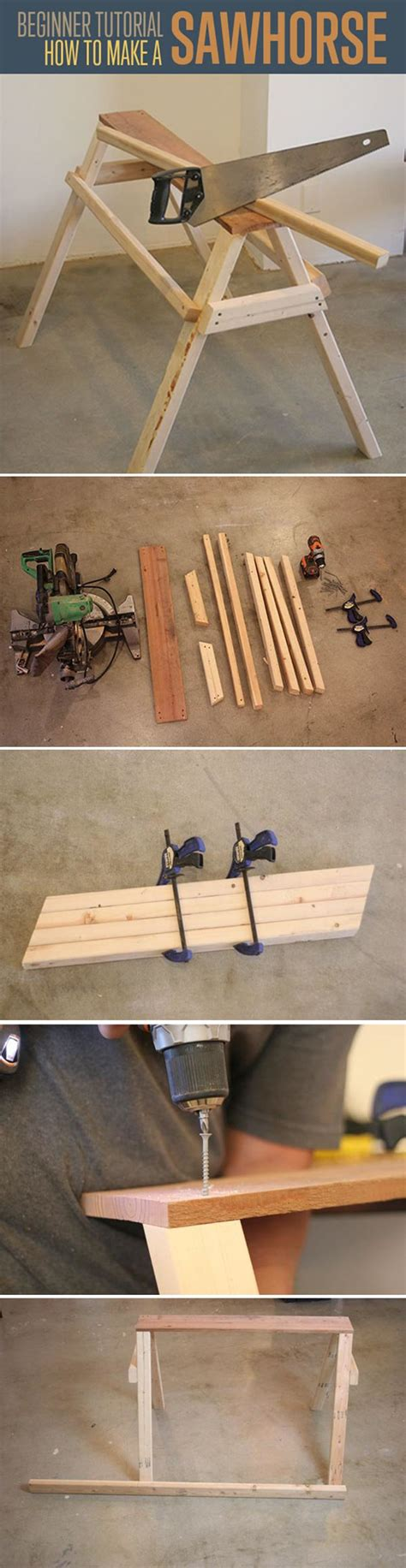 simple woodworking projects with tools 21 best images about saw horses on the family