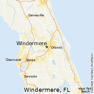 where is windermere florida on a map best places to live in windermere florida
